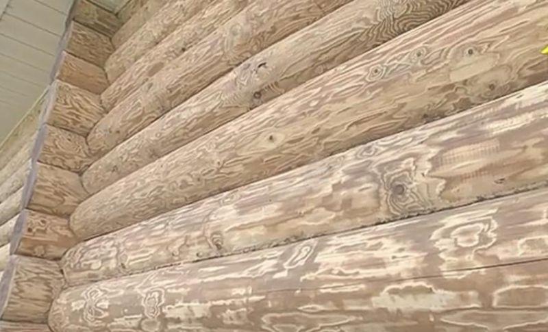 Обработка дерева ( браширование )