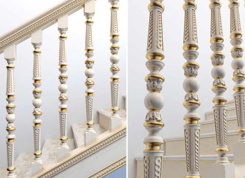 Деревянные лестницы в Москве, в Московской области под  ключ