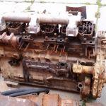 Двигатель Komatsu SA6D155, б/у некомплект D355A, D355C
